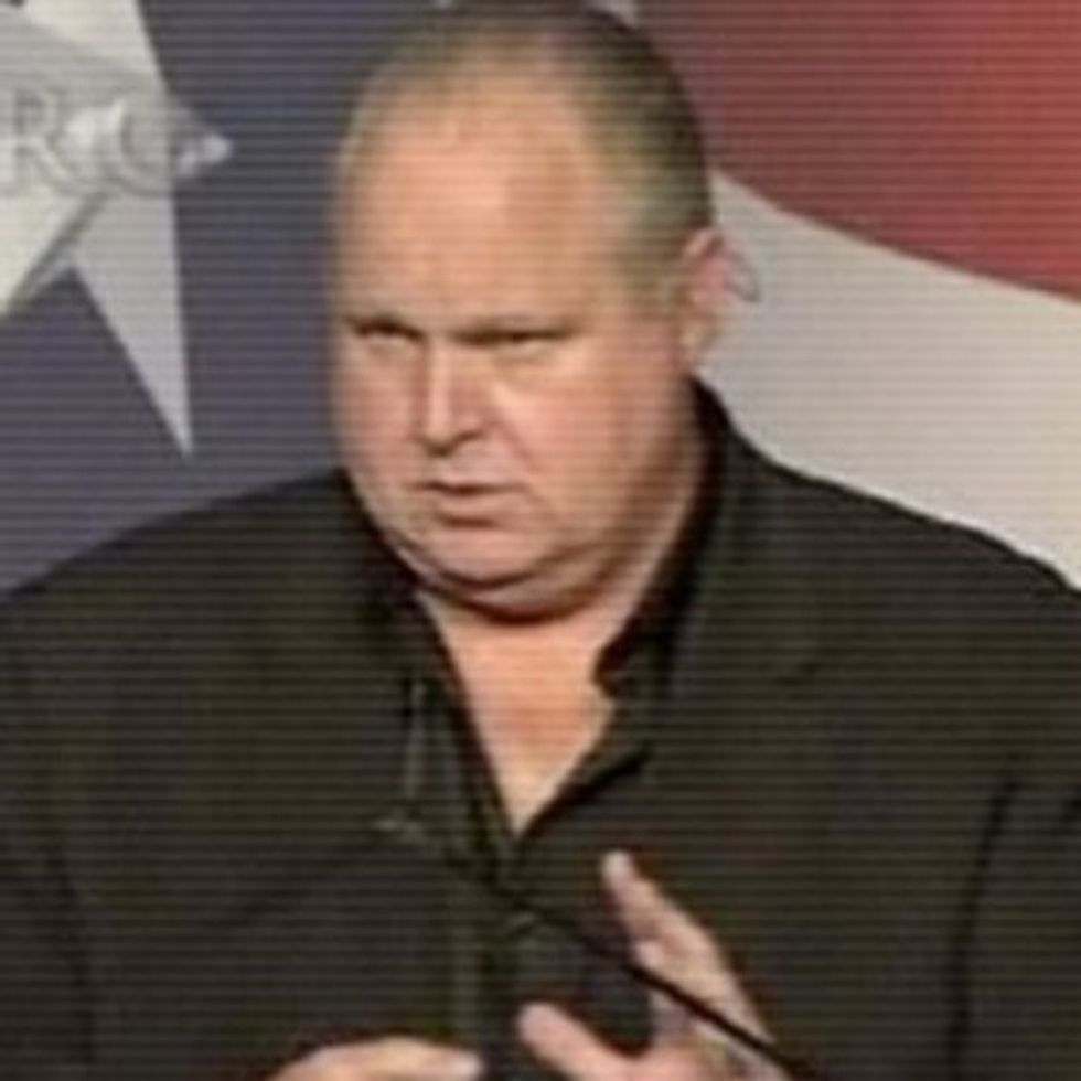 5 Charts You Could Show Rush Limbaugh Instead Of Throwing Things At Him