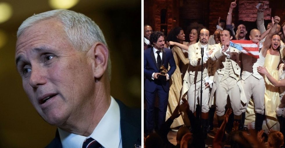What happened at 'Hamilton' last night says a lot about the kind of America we want to be.