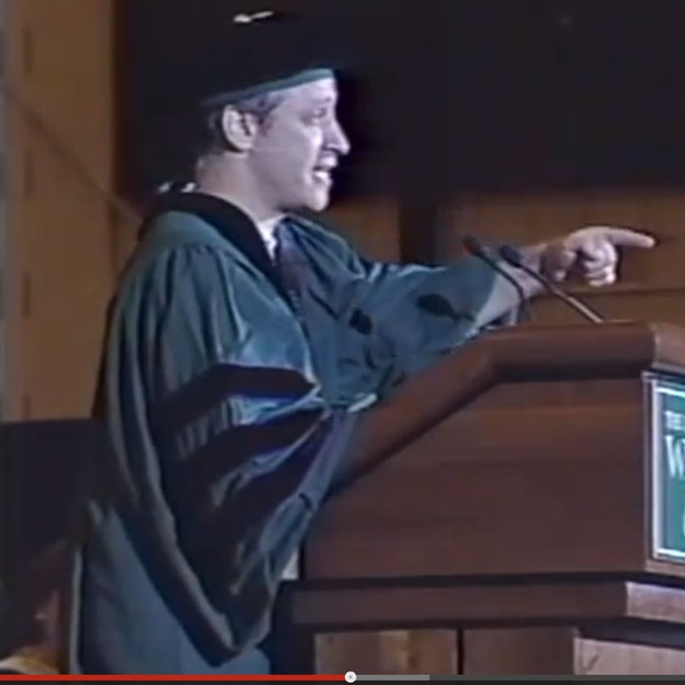 Jon Stewart Tells A Room Full Of Overachievers That Success In College Doesn't Mean Much