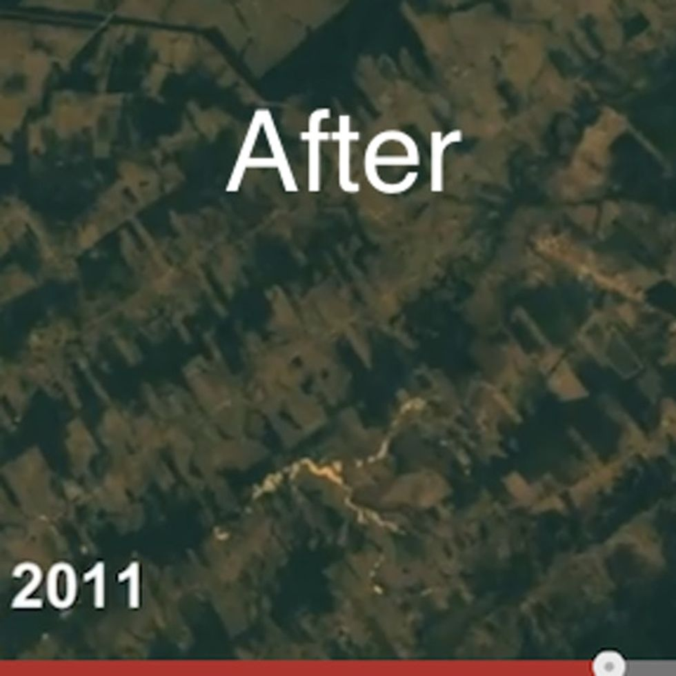 Check Out The Destruction Of The Amazon Rainforest As Seen By Satellites