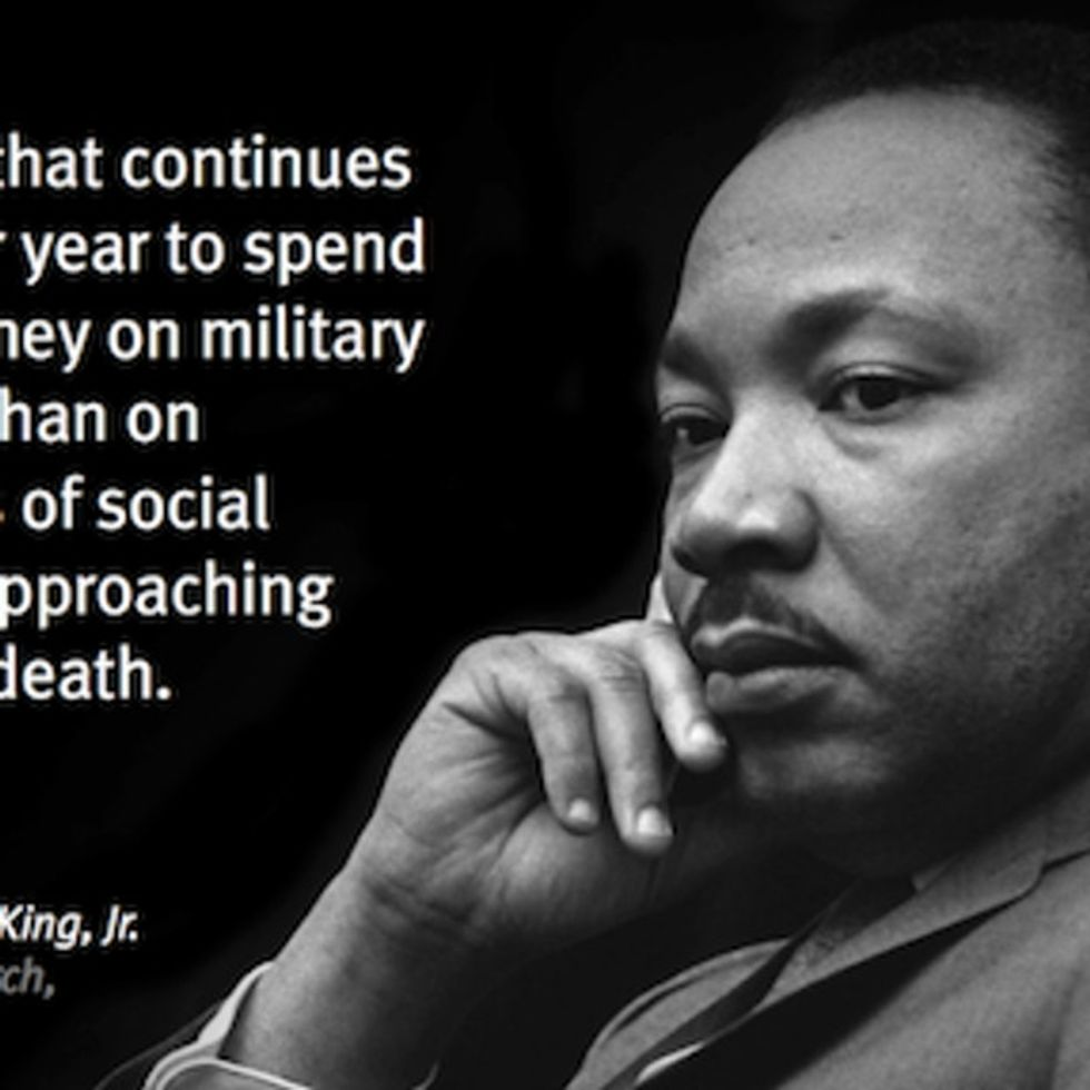 Martin Luther King Jr. Predicted And Tried To Stop The Military-Industrial Complex