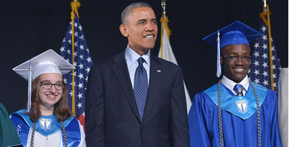 This high school grad's Obama joke revealed something powerful about unconscious bias.