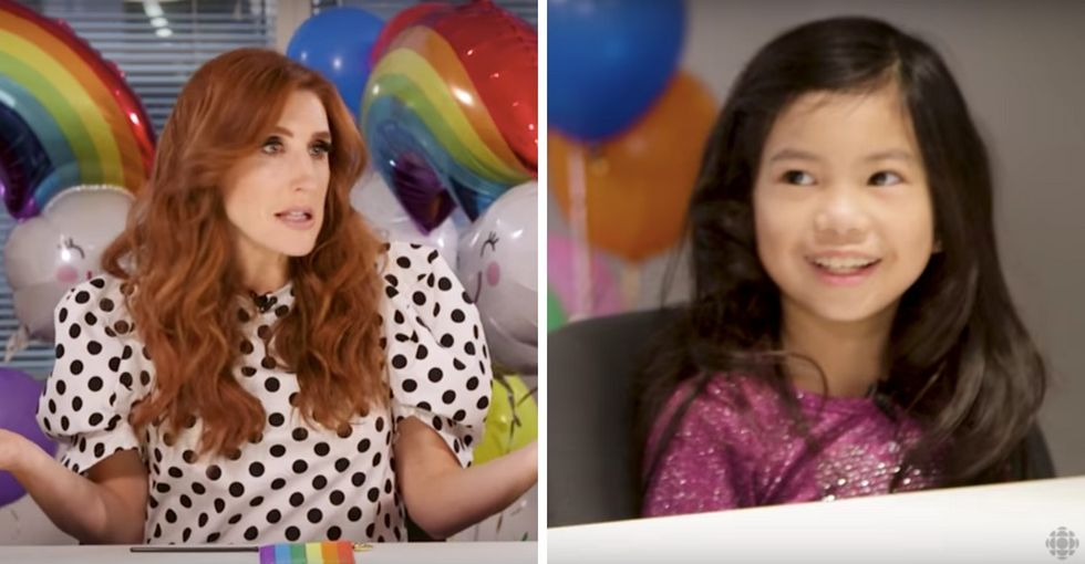 She had a candid chat with kids about LGBTQ Pride. It was hilariously heartfelt.