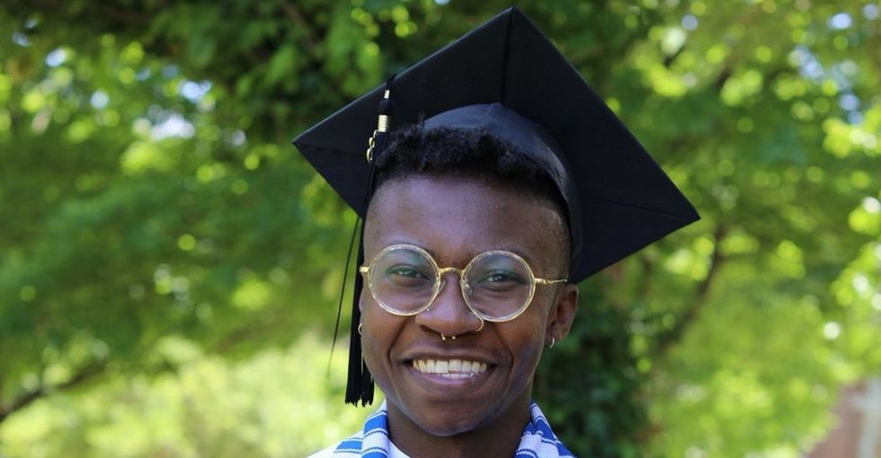 The first openly trans man is graduating from Spelman. Here's his incredible story.