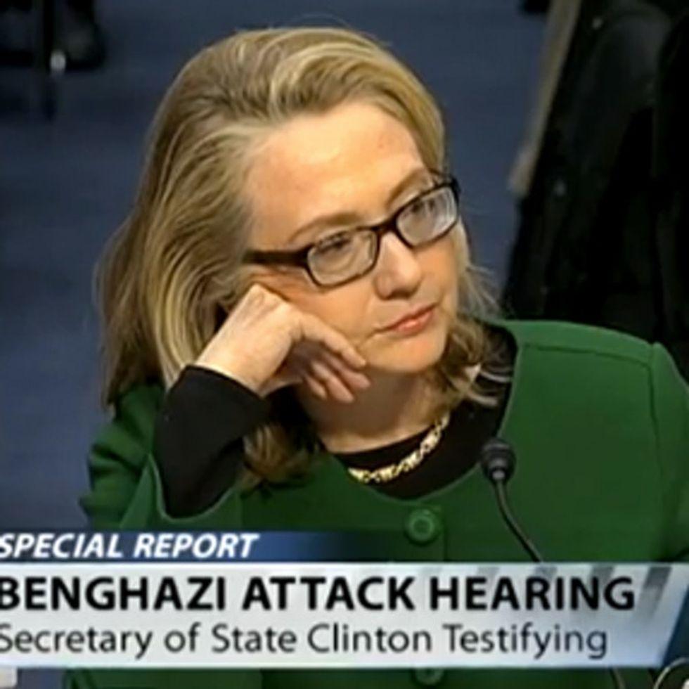 Hillary Clinton Turns The Tables On John McCain's Benghazi Grandstanding