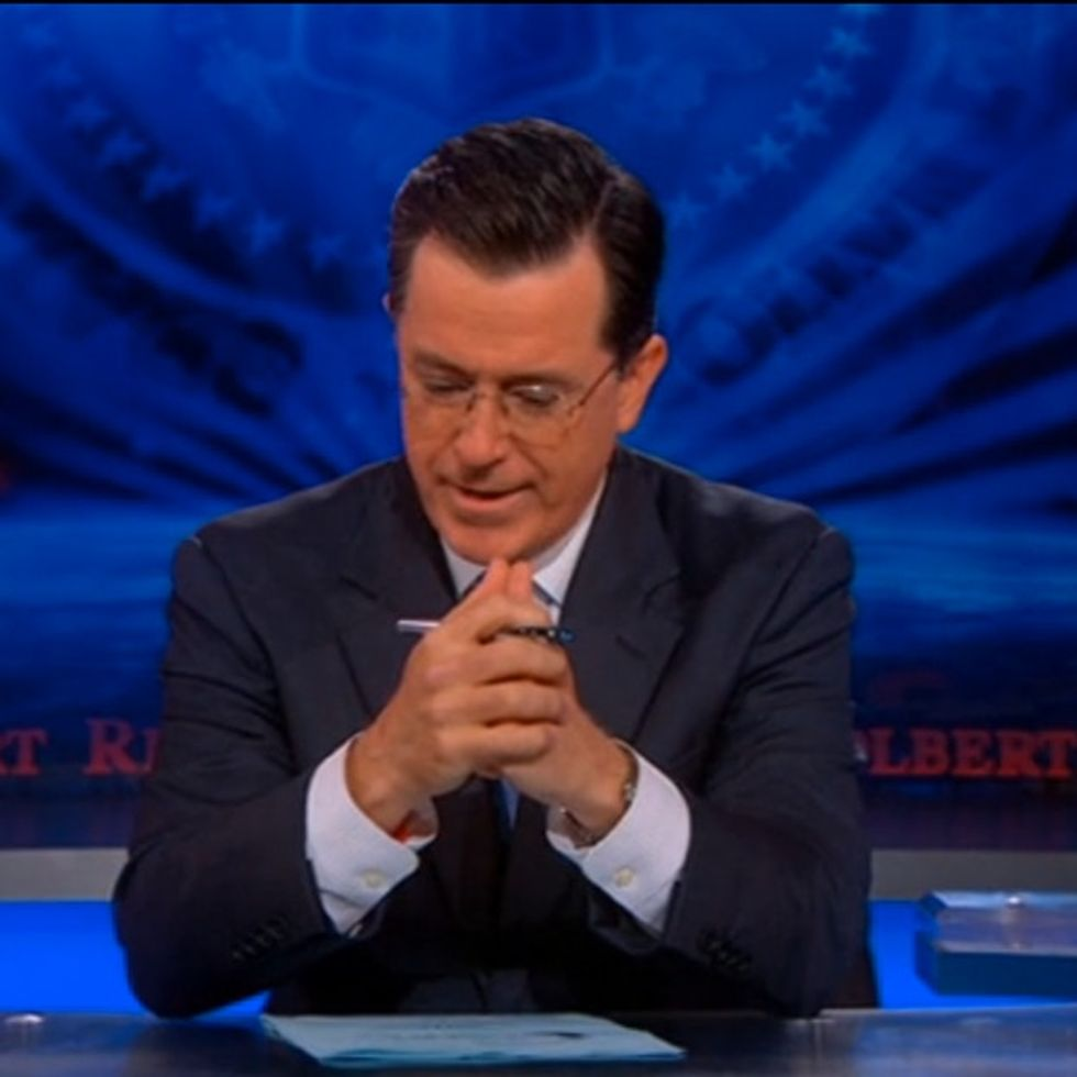 Stephen Colbert Says Good-Bye To His Mother On Air. It's Funny, And It's Heartbreaking.