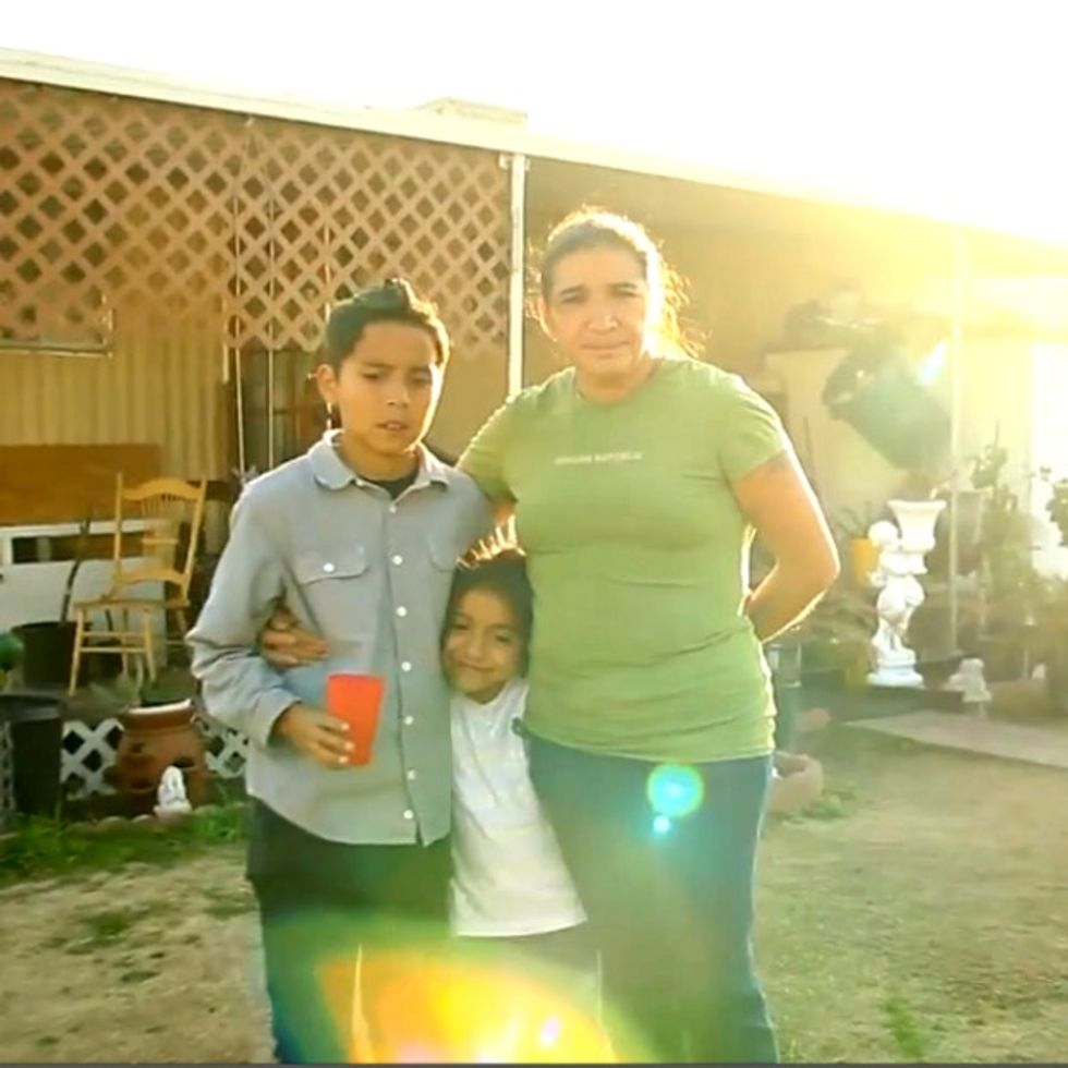 2 barking dogs, a mother of 3, and 1 outrageous deportation that you can't stop.