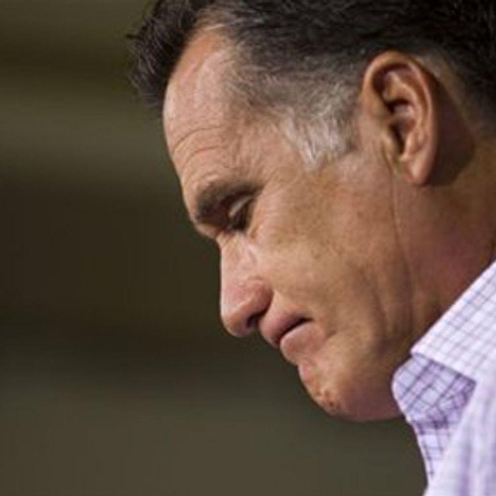 I wonder if this keeps Mitt Romney up at night?