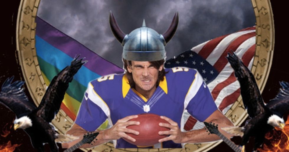 This Is How A Pro Football Player Deals With Anti-Gay Bigotry
