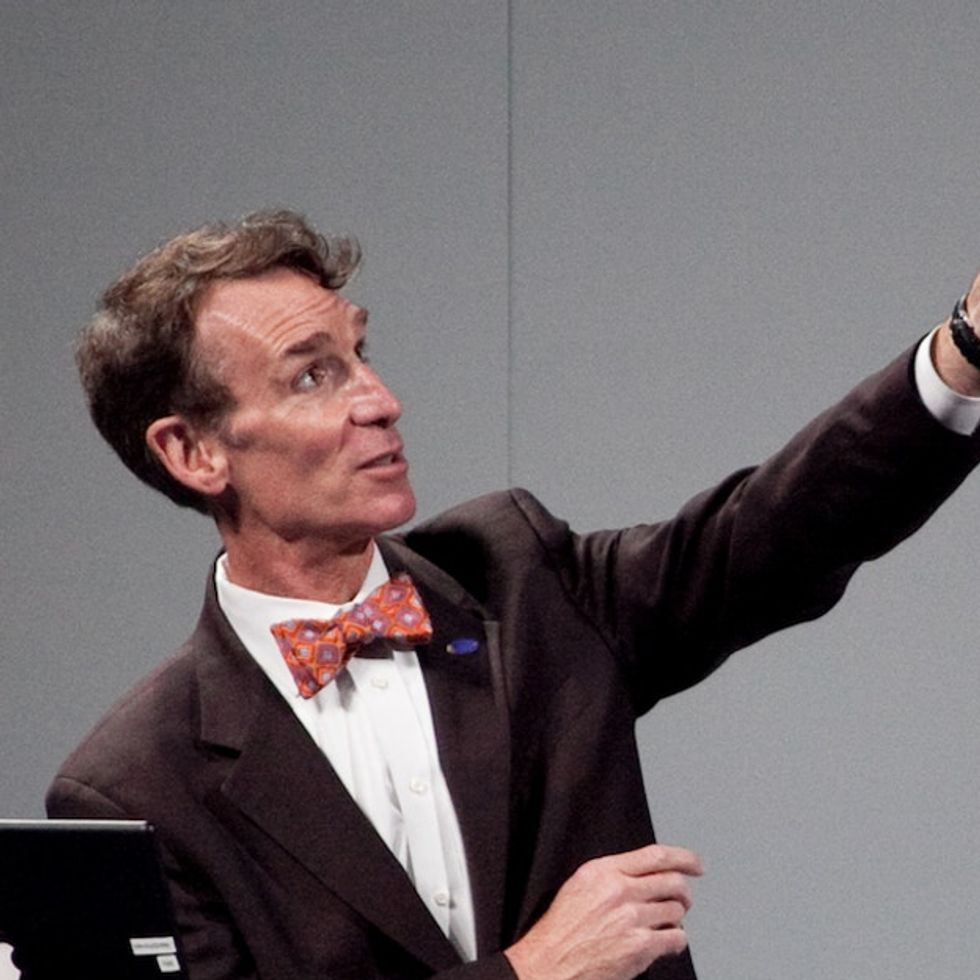 Bill Nye Is Willing To Make A Deal With People Who Don't Believe In Evolution
