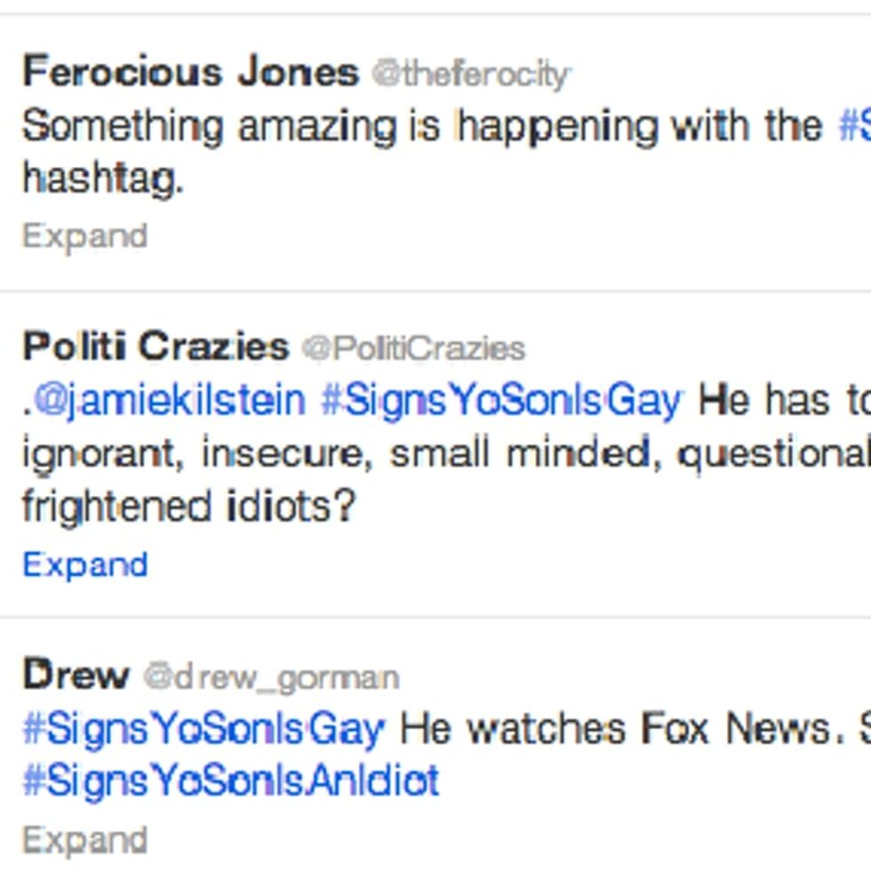 #SignsYoSonIsGay Starts Trending On Twitter, And This Is How The Good People Of The Internet Responded
