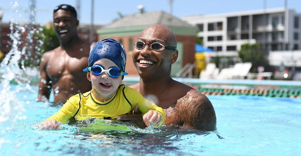 Drowning is a top cause of death for kids. This Olympian wants to change that.