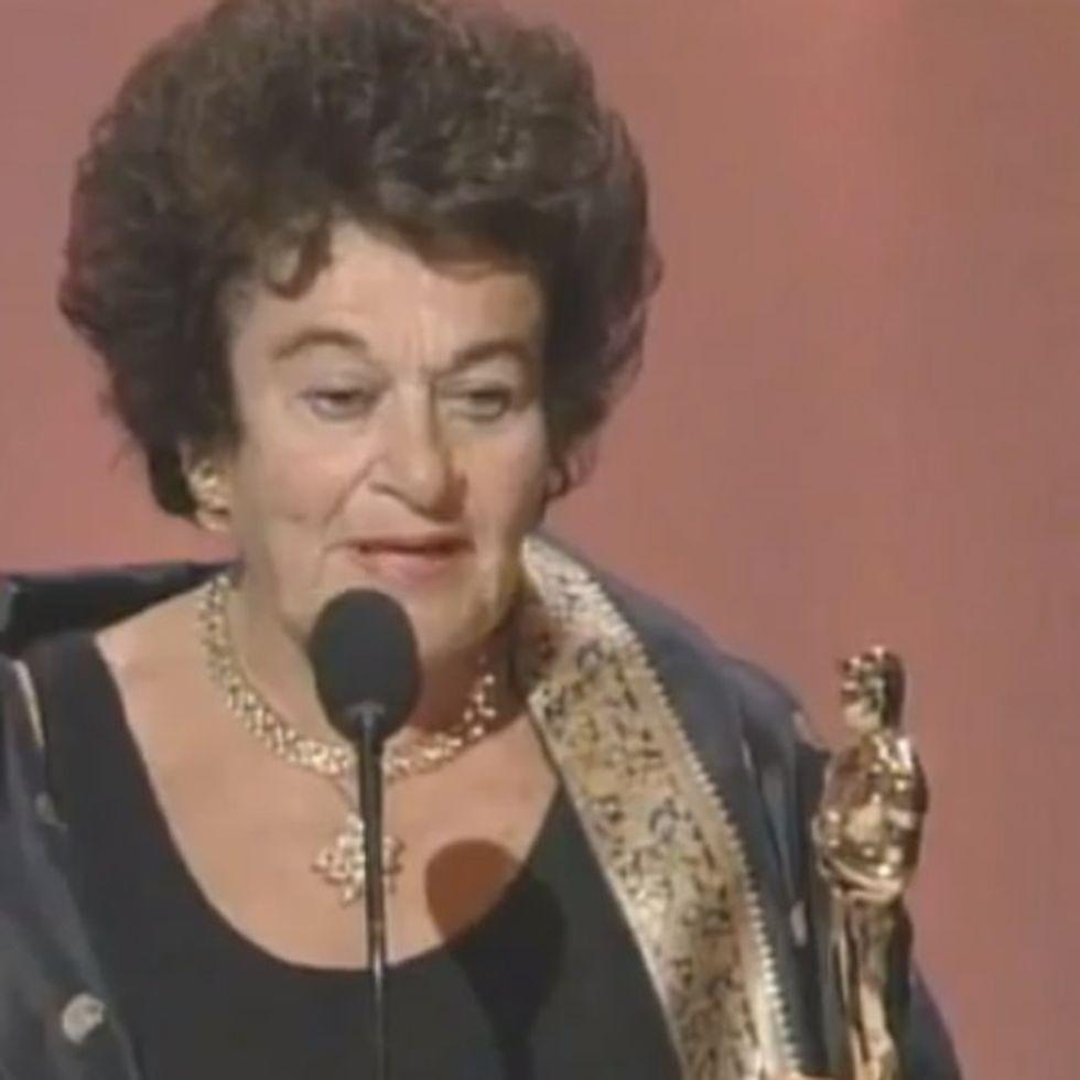This Is What Happens When A Holocaust Survivor Wins An Oscar