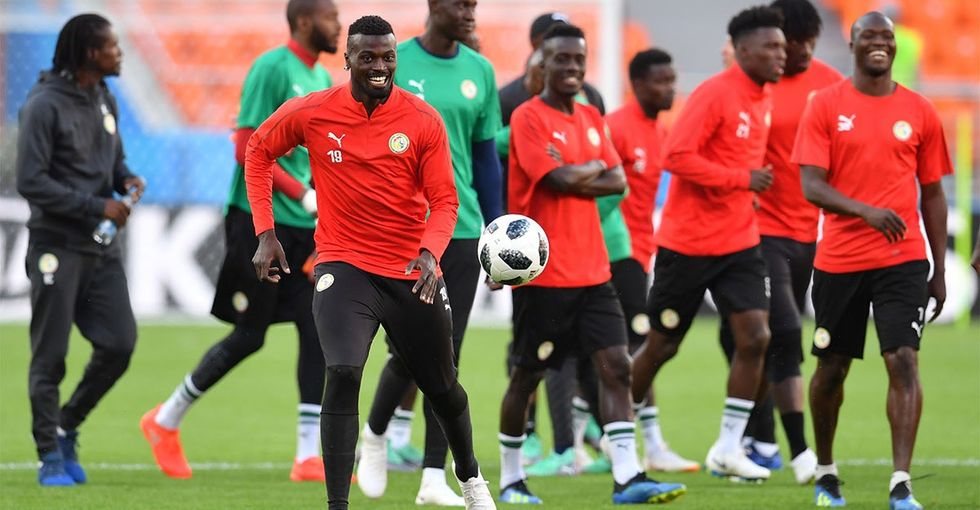 This video of Senegal's World Cup prep dance is warming hearts around the world.