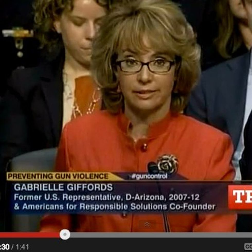Gabby Giffords Says More In Her Struggle With 13 Sentences Than Most People Do In A Lifetime