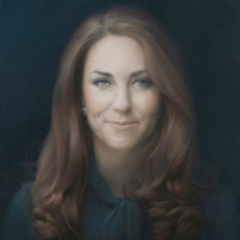 Have You Seen The Official 'Ugly' Portrait Of Kate Middleton?