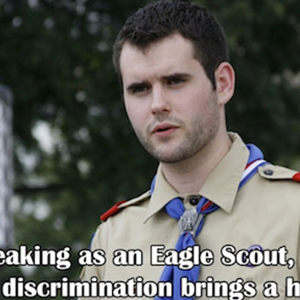 Two Lesbians Raised A Son And Now He's Speaking Out Against The Boy Scouts