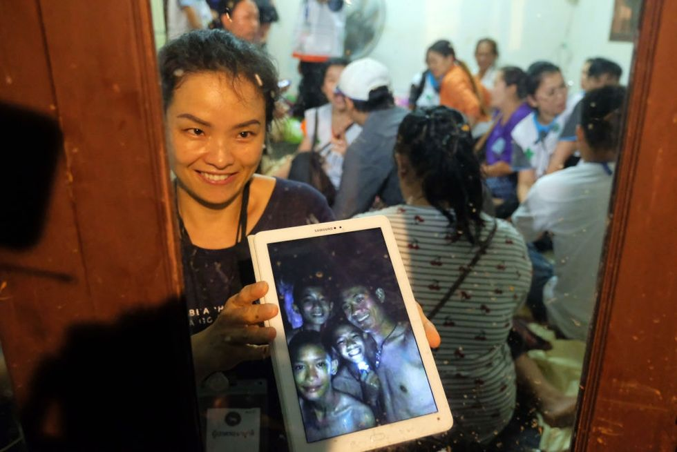 The world is celebrating: Thai rescuers have found missing youth soccer players alive.