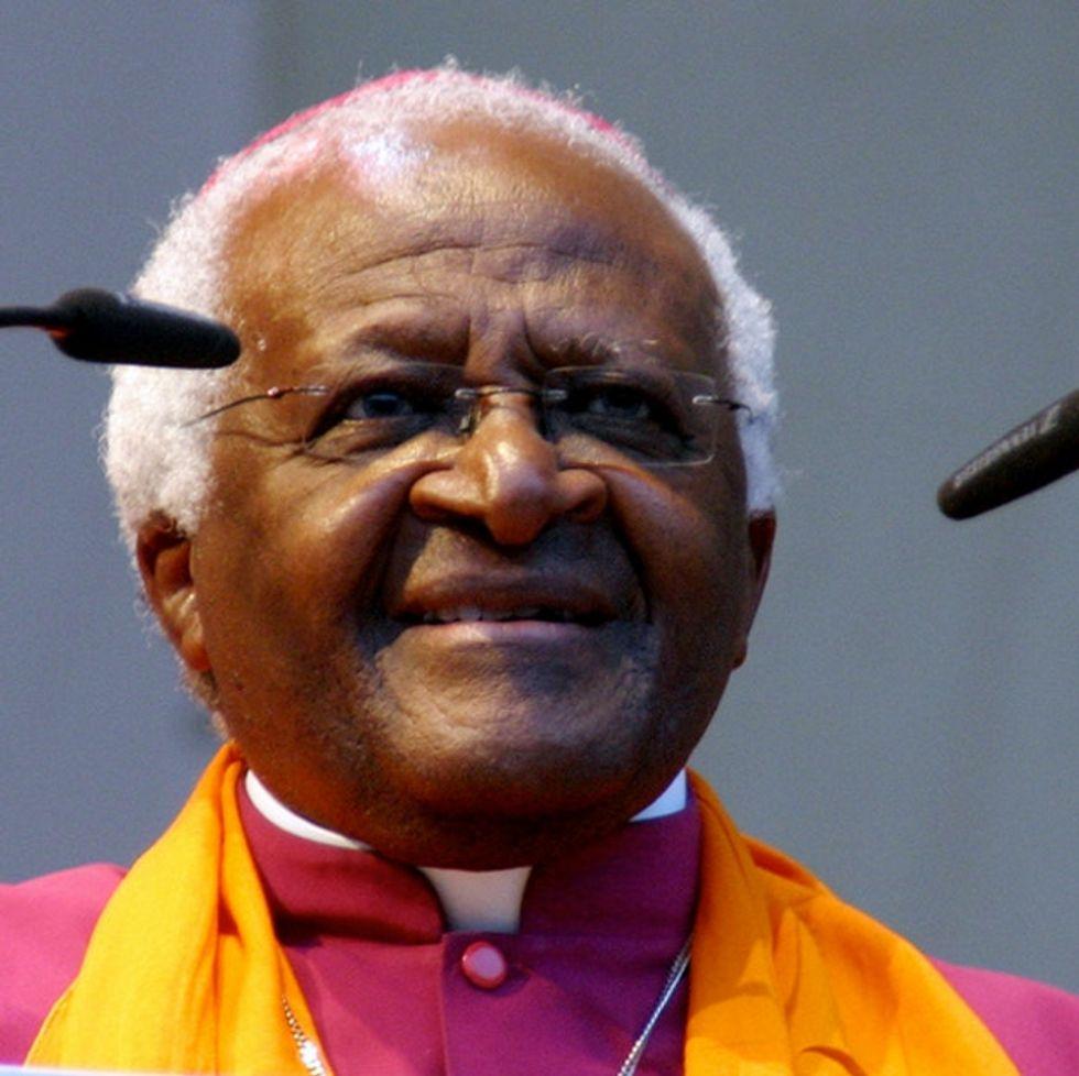 Desmond Tutu Delivers One Kick-Ass Line Against Anyone Advocating For A Homophobic God