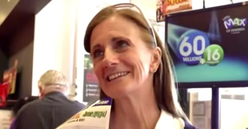 This wealthy, big-hearted woman is spending her lottery winnings in a fantastic way.