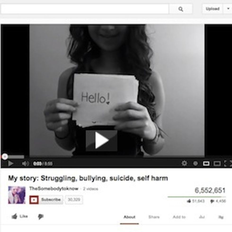 If There's YouTube In Heaven, 1 Bullied Teen Will Be Smiling When She Sees This