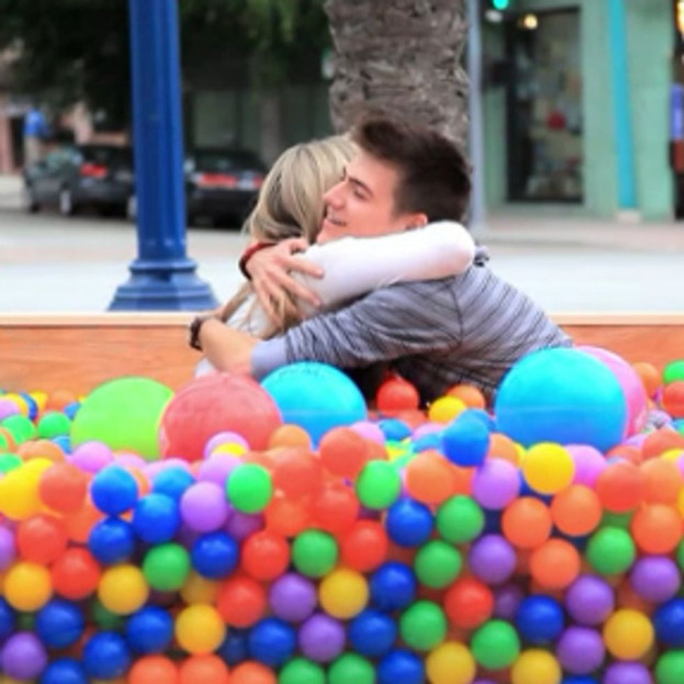 You'll Never Believe What These Adults Found In This Ball Pit