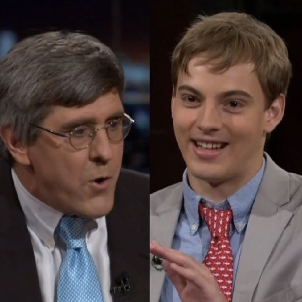 College Kid Forced To Remind Know-It-All Economist That He's Actually Not A Scientist