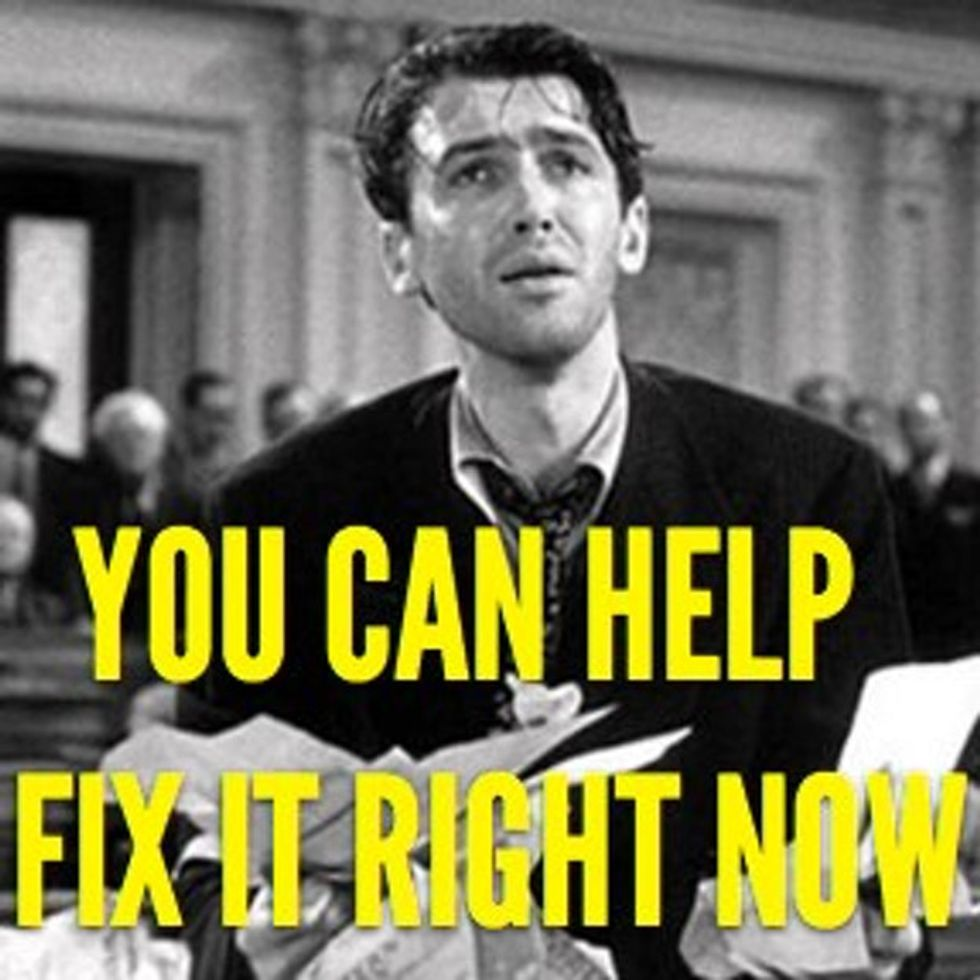 Are You Sick Of Washington Ruining Everything? Here's An Easy And Tangible Way You Can Help Fix It.