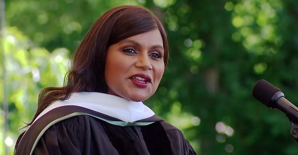 9 great pieces of advice from Mindy Kaling's hilarious Dartmouth commencement speech.