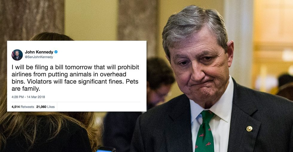 After a puppy died, this Republican senator took action. He should apply that to kids.