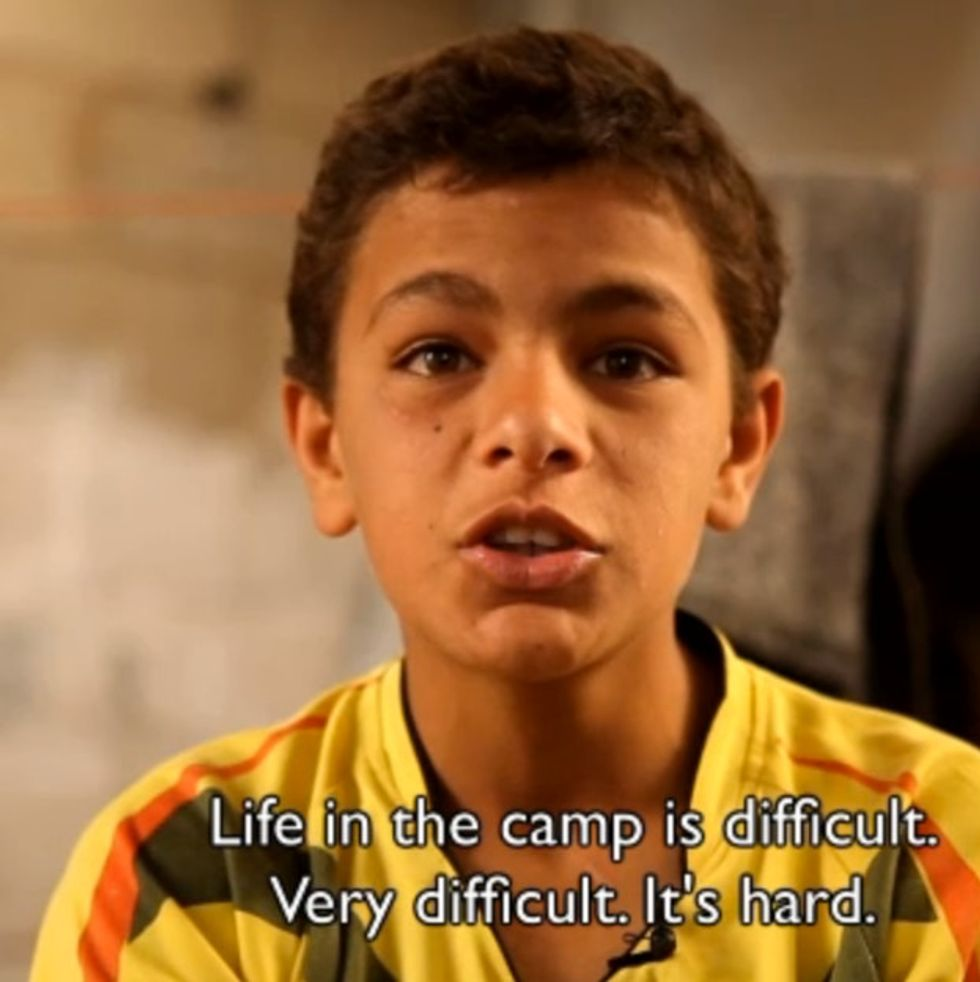 Listen To These Syrian Children Tell The World What's Really Happening