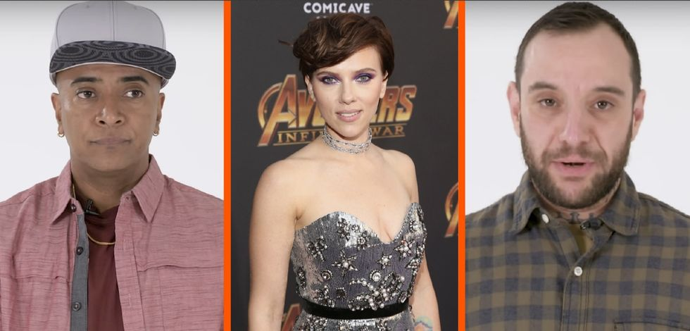 Watch 4 trans actors audition for Scarlett Johansson's past roles. They make an important point.