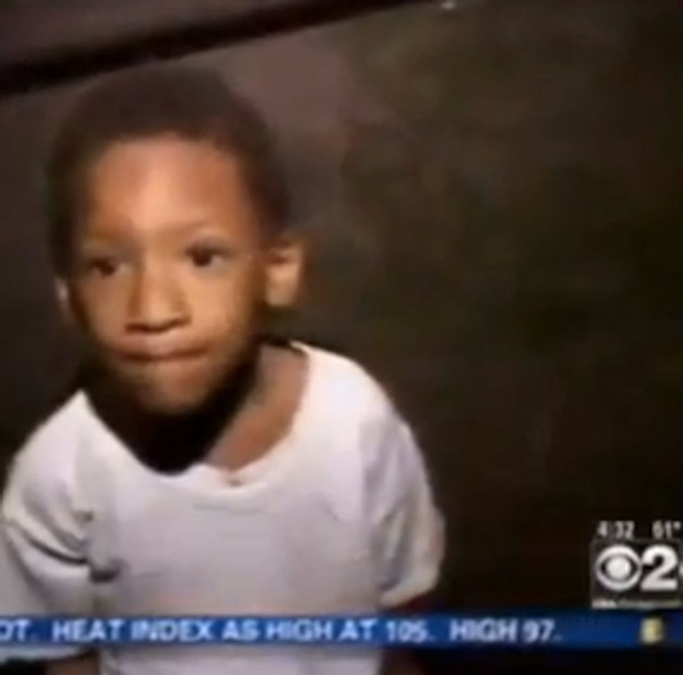 What Kind Of News Station Assassinates The Character Of A 4-Year-Old?
