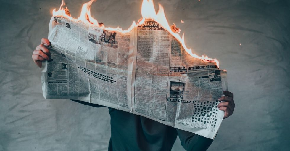 There's new brain science that can help you cope with stress caused by the news.