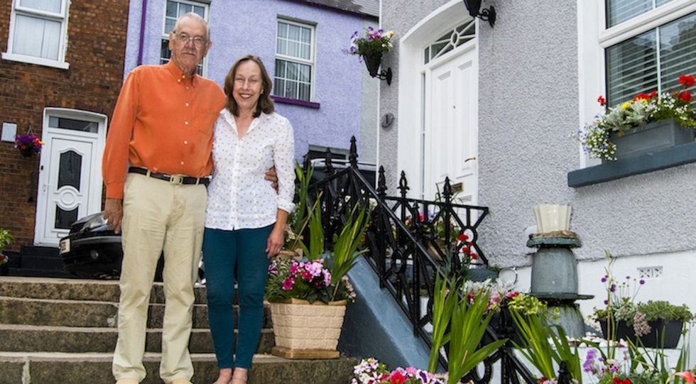 This couple could have gone on a honeymoon. They transformed their neighborhood instead.
