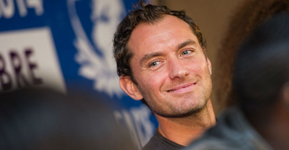 Jude Law finally opened up about Dumbledore's sexuality — kind of.