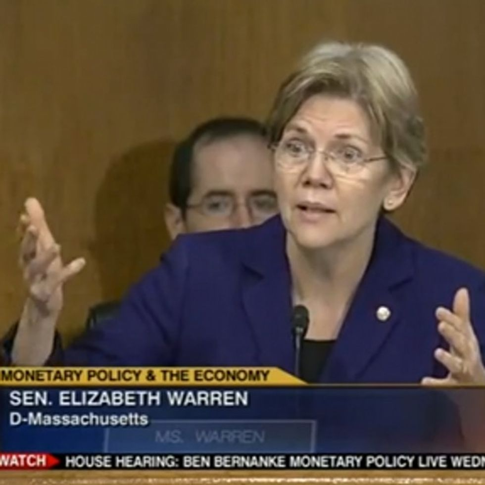 Elizabeth Warren continues to be the senator we all hoped she would be.