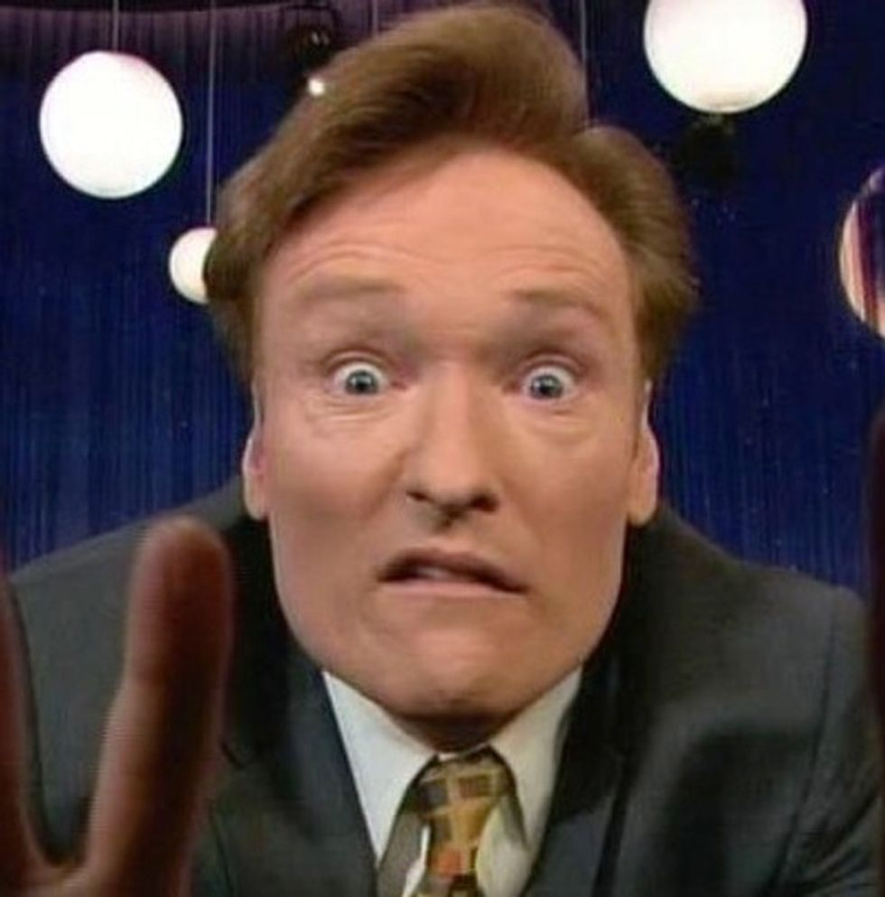 Conan O'Brien does some investigative journalism. The result is hilarious.