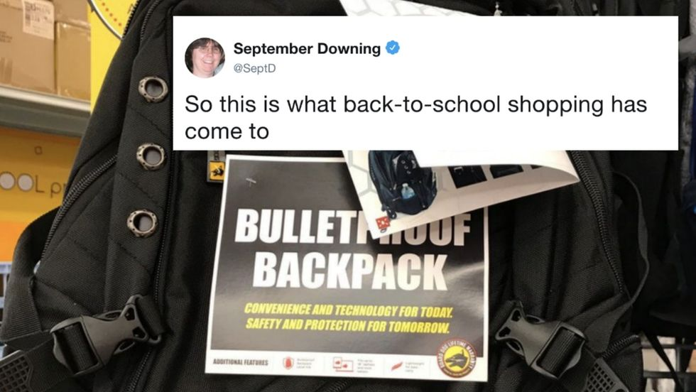 Here's what back-to-school shopping looks like when we refuse to act on gun violence.