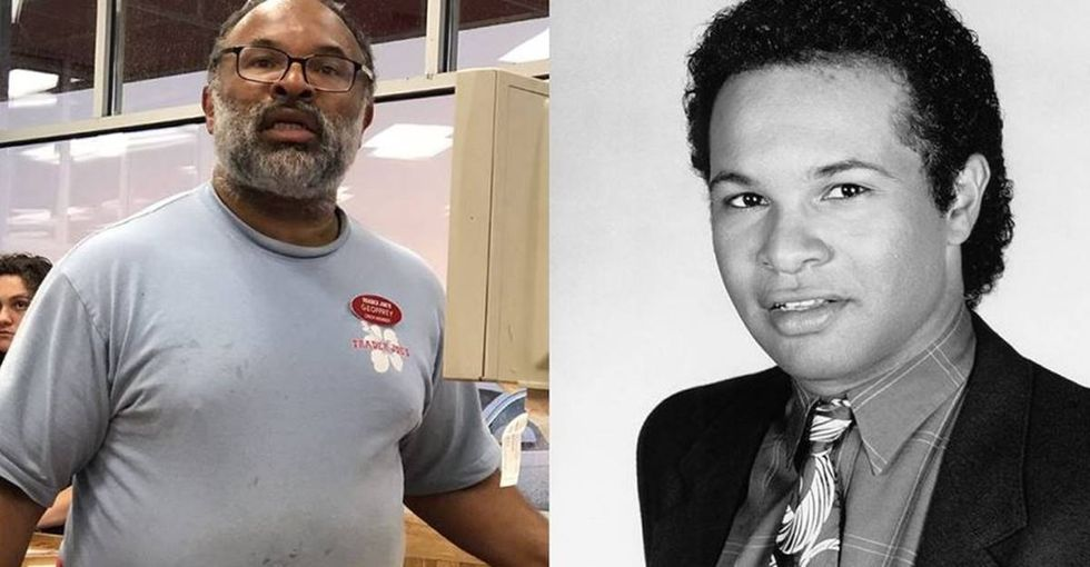 'Cosby Show' star job-shamed for bagging groceries turns ridicule into inspiration.