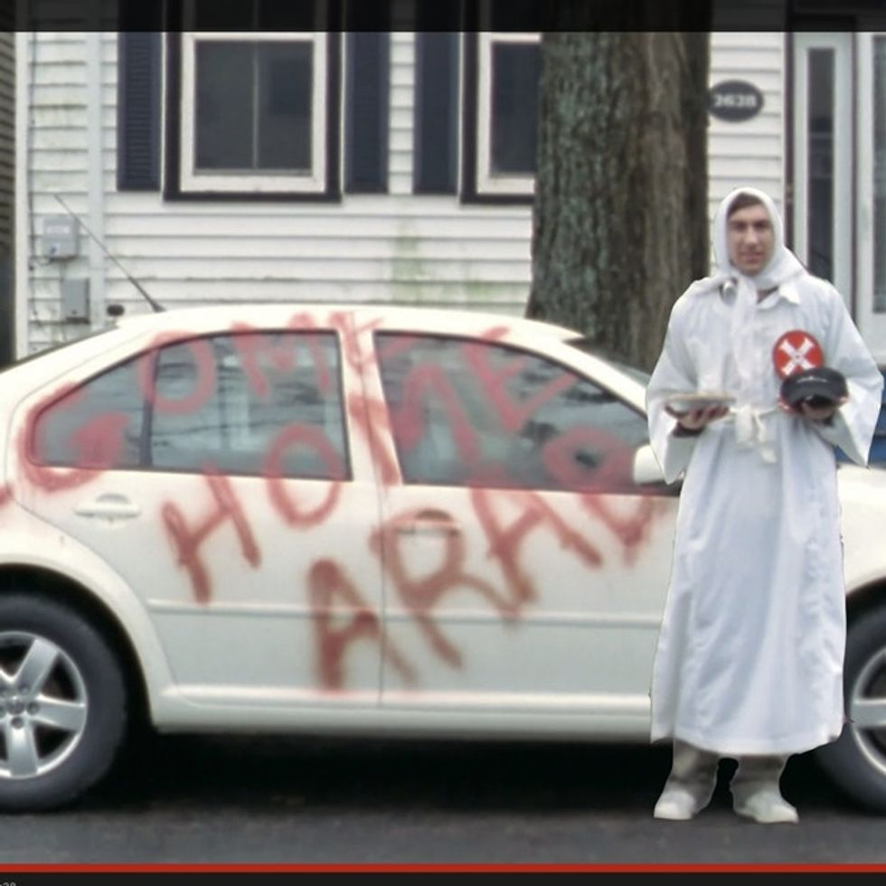Racists Spray-Paint A Comedian's Car. They Shouldn't Have Done That.