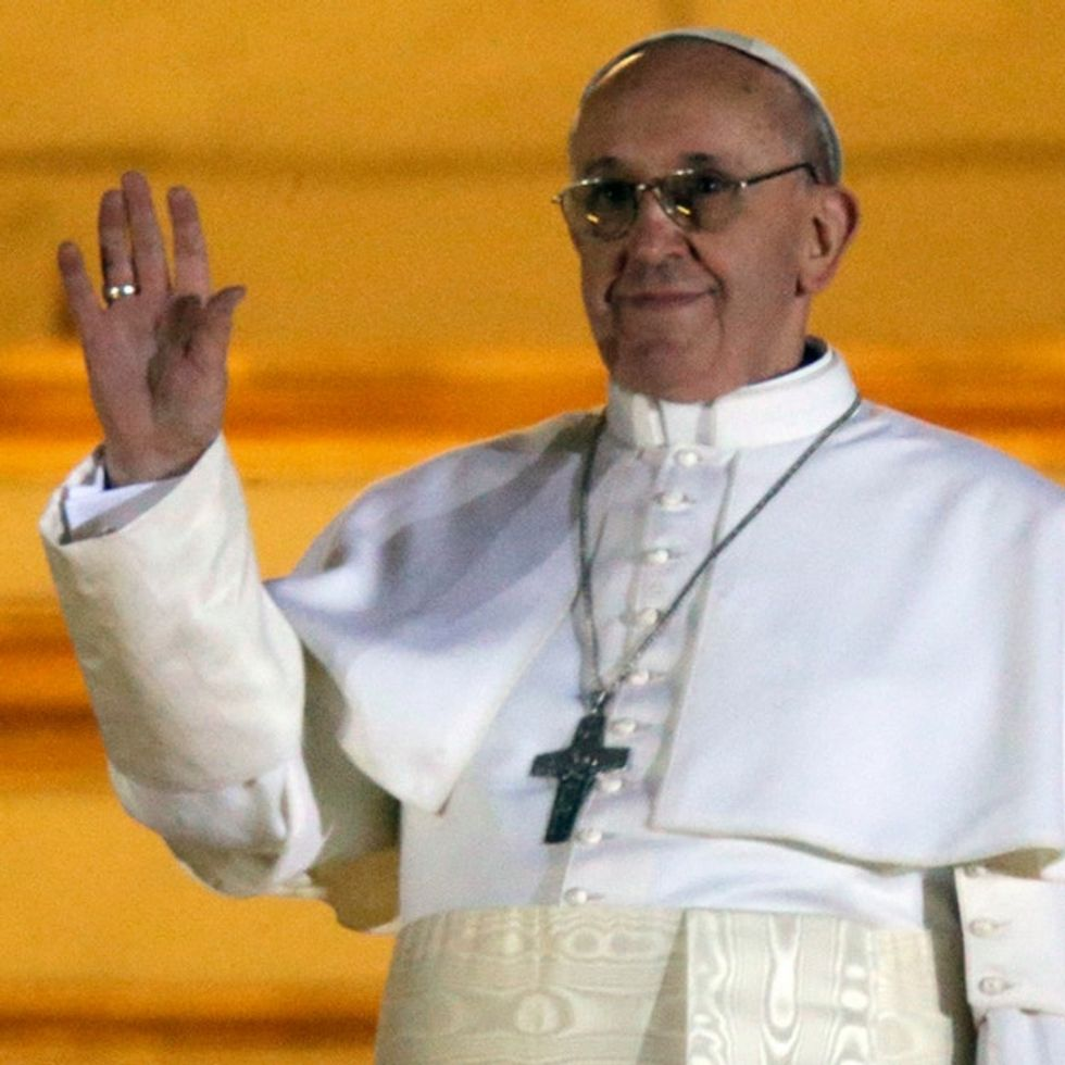 The New Pope Sure Has An 'Interesting' Opinion On Gay People