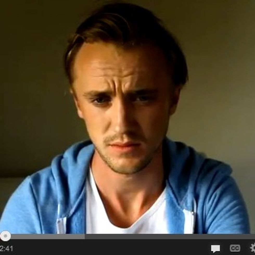 Tom Felton Disarmed Dumbledore, Yet He Can Barely Watch This. Are You Stronger Than Him?