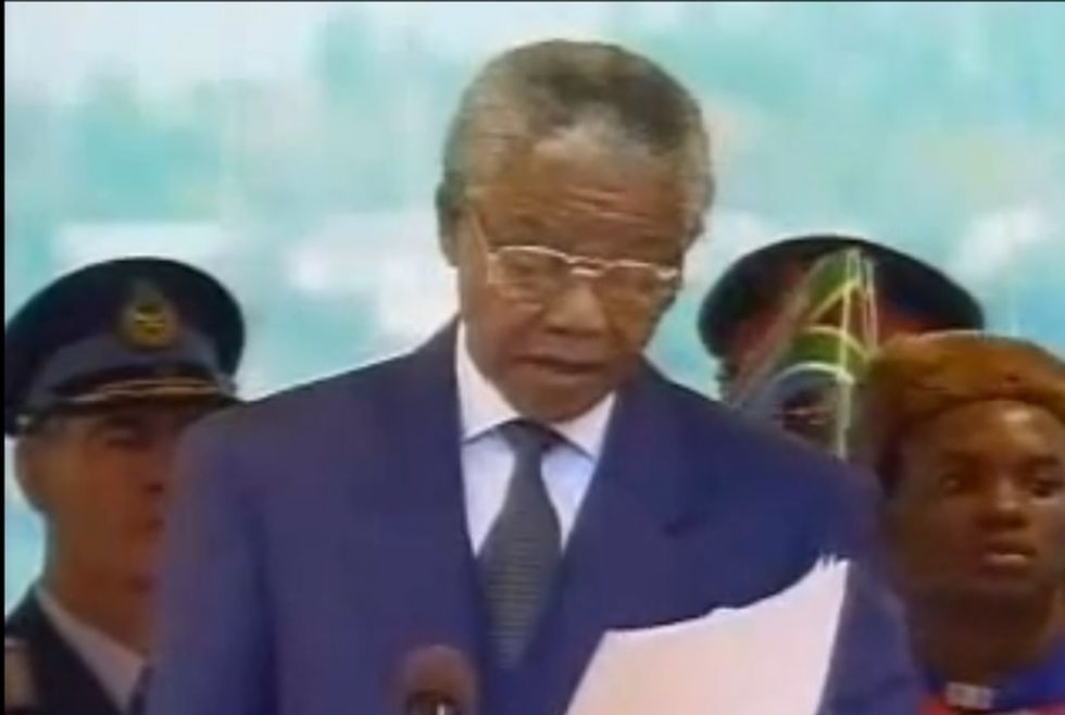 On May 10, 1994, Nelson Mandela Silenced The World With These Inspiring Words