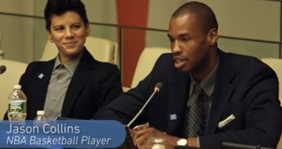 An NBA Star Came Out As Gay, And President Obama Called Him. Others Experience Kind Of The Opposite.