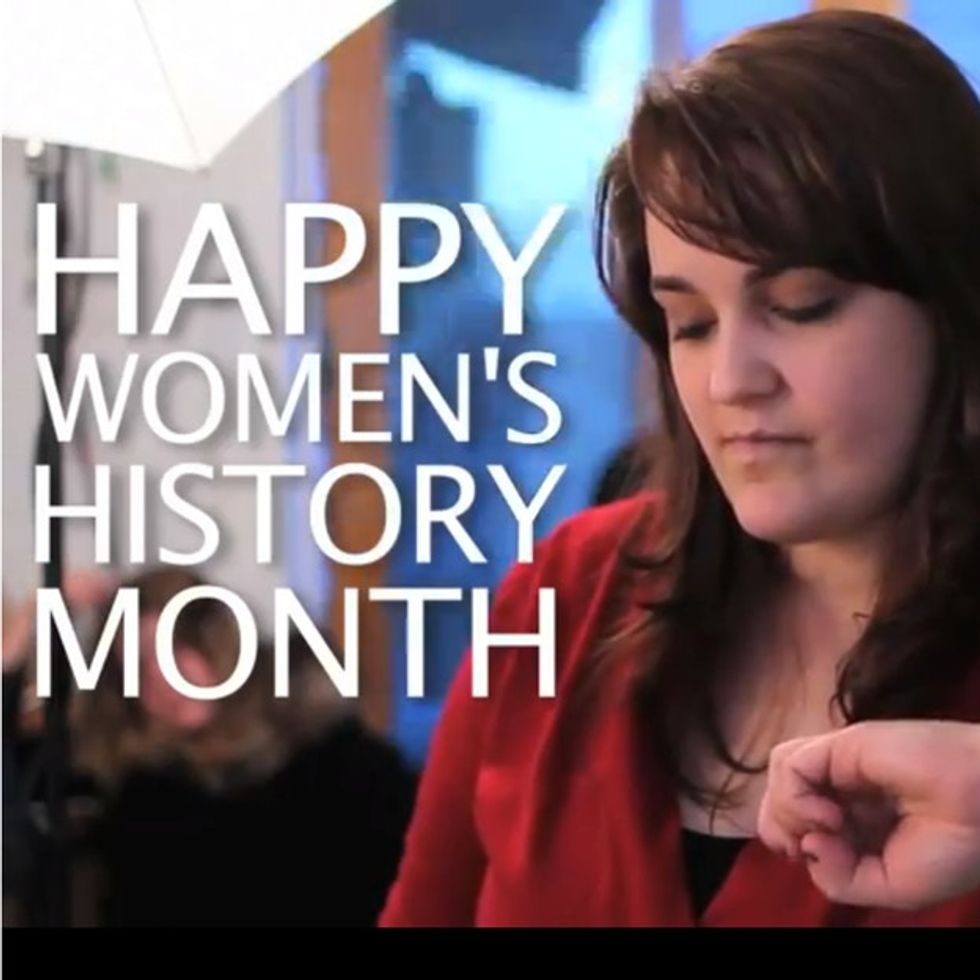 The One Where Some Dudes Think They Can Tell You What To Think About Women's History Month