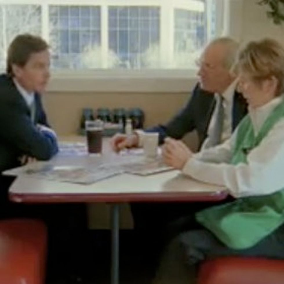 Watch A Diner Waitress Explain To A Wall Street Guy How Money Works In America