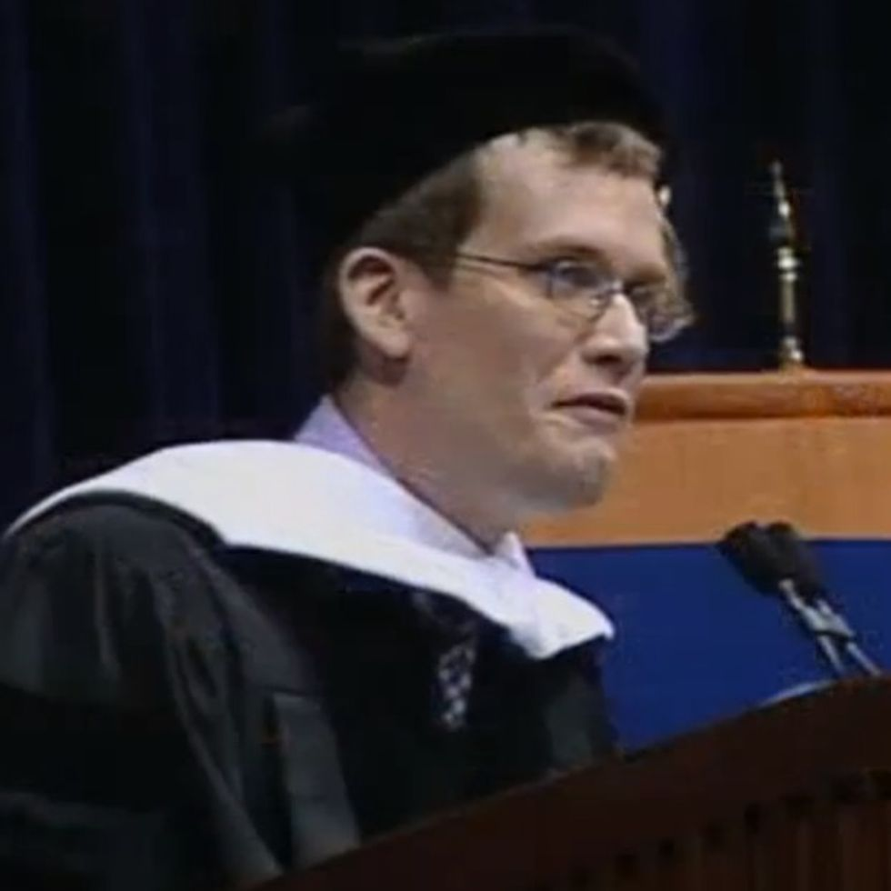 Would You Rather Be A Nobody Or A Jerk To Everybody? This Graduation Speech Makes It Really Obvious.