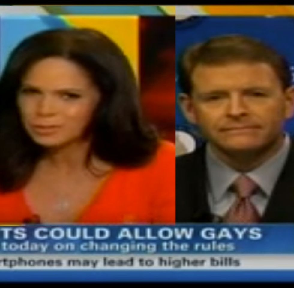 Soledad O'Brien Clashes With Anti-Gay Interview Guest