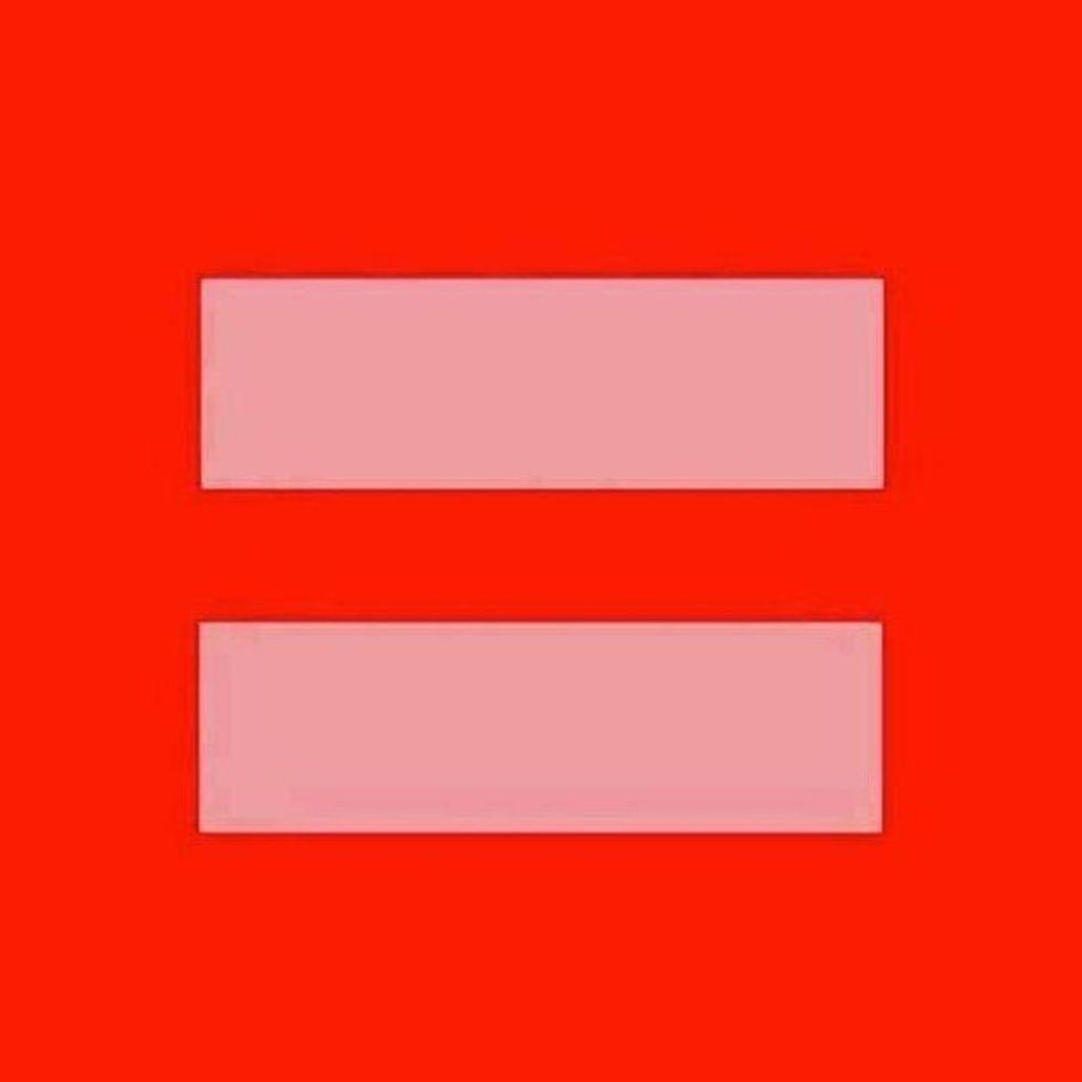 In Case You Missed It: Why Everyone Is Posting Those Pink Equal Signs on Facebook This Week!